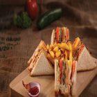 Walnut Bakery Non-Veg Sandwich Combo